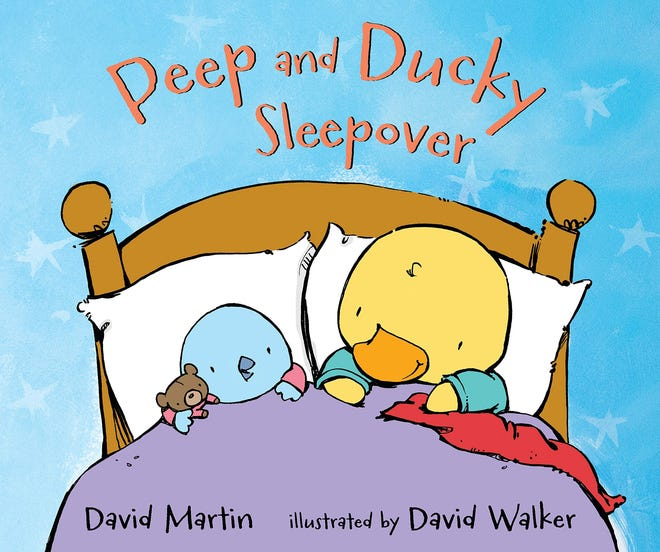 """Peep and Ducky Sleepover"" by David Martin and David Walker"