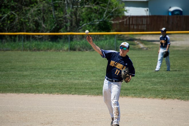 Hillsdale would finish the three team series 1-1. Jonesville would lose both games on Saturday.