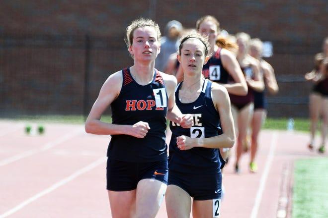 Hope's Ana Tucker is regional runner of the year.