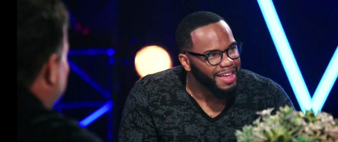 """Peoria High School graduate Victor Solomon heads for the final episode of this season of """"The Voice"""" on NBC. Solomon is among five finalists competing for $100,000 and a recording contract."""