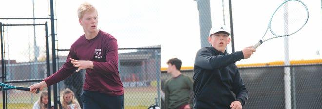 Left: Osage junior Mark Pankiv, Right: Osage sophomore Vladimir Nahapetyan.