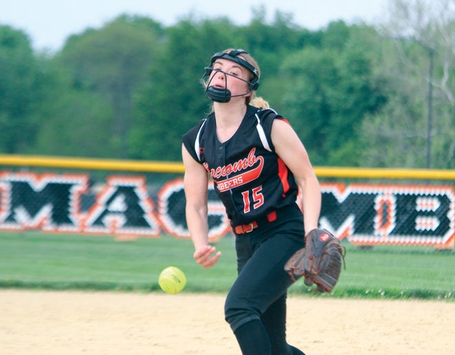Kaitlyn Robinson delivers a pitch.