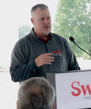 Travis Miller, Swift Prepared Foods plant manager at Moberly, talks about the importance for the company to become a positive, contributing partner with the Moberly community.