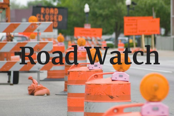 Road construction planned in Monroe County this week.