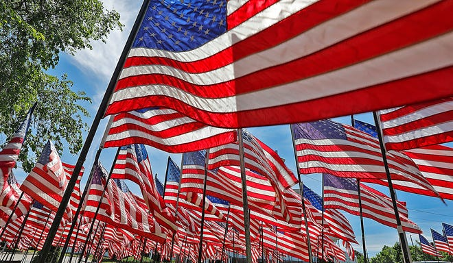 Deerfield's Memorial Day parade will step off from the Deerfield Fire Station at 9 a.m. Monday. It will be followed by a ceremony at the Deerfield Cemetery.