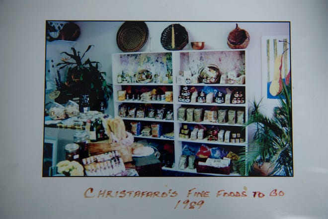 Doreen Alfaro once ran a Gourmet-to-Go shop on Dixie Highway. This is an image of the West Palm Beach business taken in 1989.