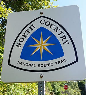 The North Country National Scenic Trail passes through eight U.S. states.