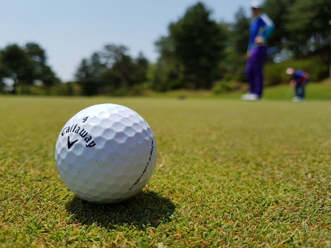 Swink High School finished second and Fowler third at the Santa Fe League Meet Tuesday at Hollydot Golf Course.