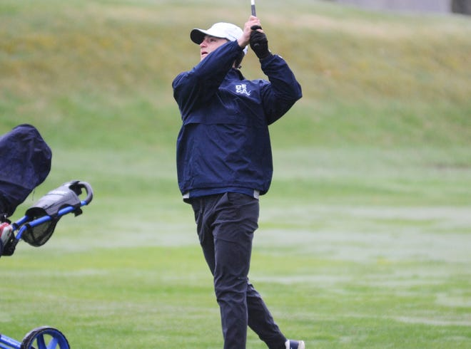 Petoskey's Luke Sumpter ended the season with an 82.5 in BNC matches, earning him All-Conference honors.