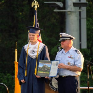 Samuel Humphreys, who attends St. Thomas Aquinas High School, has accepted an appointment to attend the Coast Guard Academy.