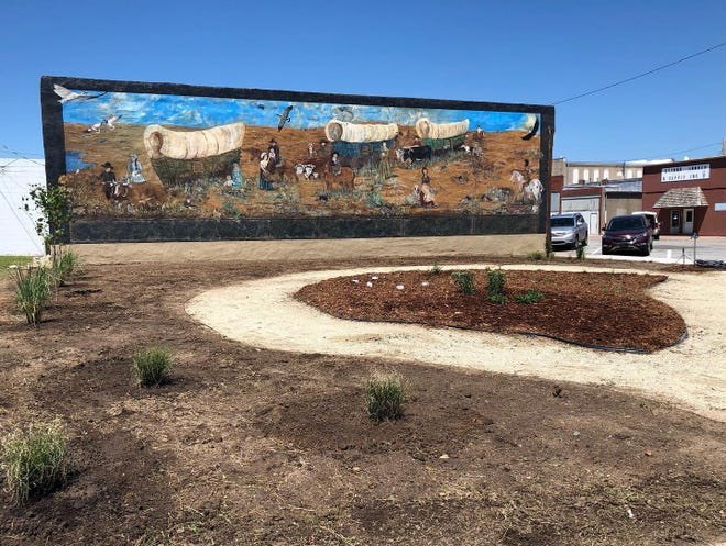 A Friday, May 28 ribbon-cutting ceremony at the bigger-than-life mural will kick off the 2021 Julbilee event in St. John.