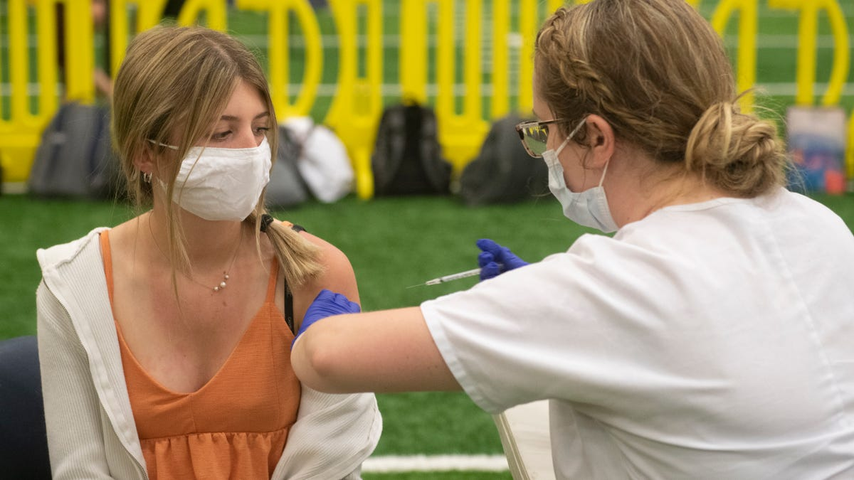 What is Sarasota-Manatee doing to vaccinate teens before school starts in August?