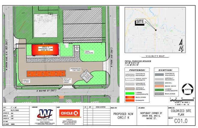 Circle K site plan