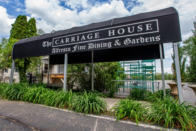 The Carriage House on Tuesday, May 25, 2021, in South Bend.