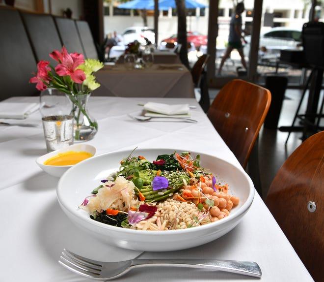 Lila in downtown Sarasota is one of numerous vegan-friendly restaurants in Sarasota-Manatee.