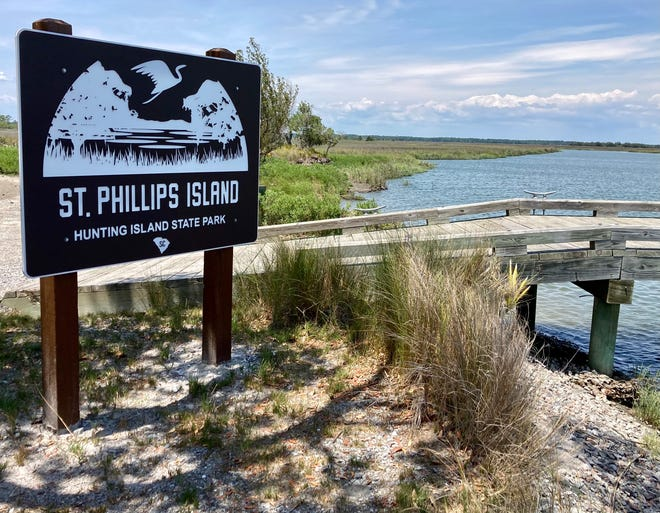 Hunting Island State Park is gateway to St. Phillips Island, a 4,682-acre island, accessible only by boat and recognized by the National Park Service.
