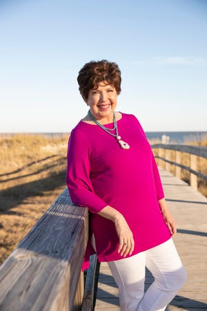 Author Mary Kay Andrews' latest book is romance thriller 'The Newcomer.'