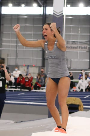 Following a record-setting spring that saw her finish runner-up at the NCAA Division II National Championships, Washburn pole vaulter Virgi Scardanzan has been named a finalist for the MIAA Spring Student Athlete of the Year award.