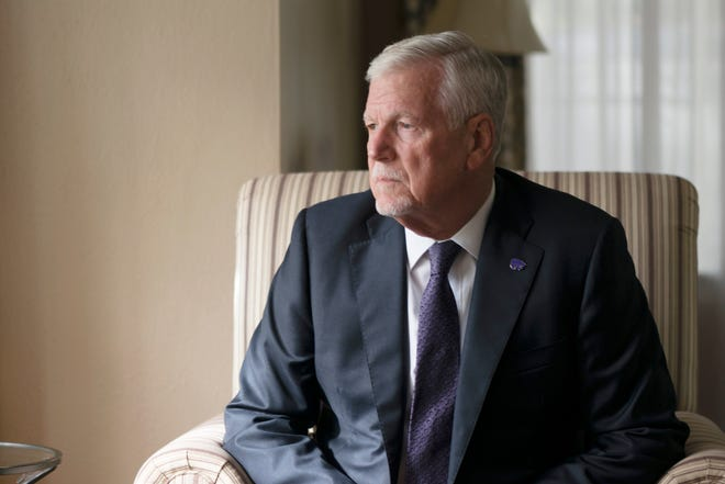 Richard Myers, who is retiring as president at Kansas State University, didn't expect a second act after four decades in the military and four years at the chairman of the Joint Chiefs of Staff. He chose to return to Kansas State as president in 2016.