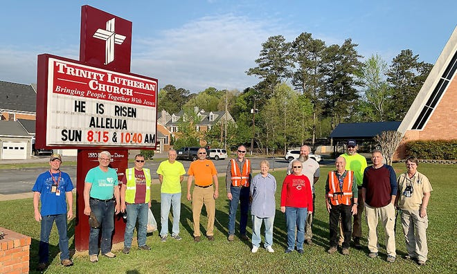Members of Trinity Lutheran Church in Gadsden assisted men and women who came from across the United States to assist the Lutheran Christian Charities in tornado clean-up work in Ohatchee.