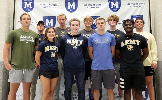 Mercersburg Academy college-bound athletes