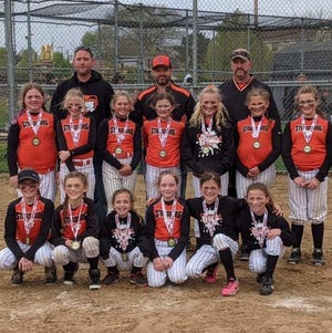 The Strasburg Tigers 10u fastpitch softball team was runner up in the Strasburg Early Bird tournament April 23-24, finished third in the Mineral City Early Bird tournament May 1-2 and most recently, brought home runner up honors in the Muskie Chix Diamond Classic tournament in Cambridge May 22-23.