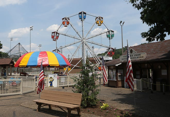Tuscora Park was ready for the 4th of July in 2020.