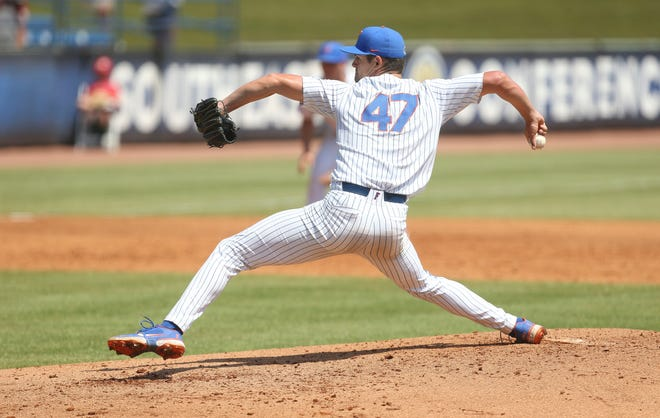 Florida will go with ace Tommy Mace (6-1, 4.32 ERA) today against the USF Bulls, who will start righty Jack Jasiak (6-7, 2.92 ERA) in the opening game of the Gainesville Regional at Florida Ballpark.