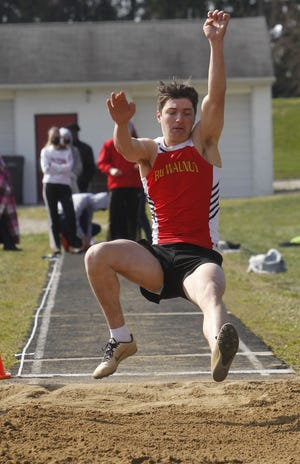 Ryan Tripp was part of a strong district-meet effort by the Big Walnut boys track and field team, running on the 1,600-meter relay that advanced to the Division I regional meet.