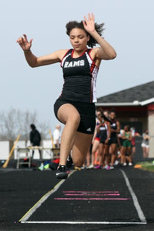 Kayla Bagley and the Whitehall-Yearling track and field program saw their season end in the Division I district meet May 22 at Hilliard Darby.