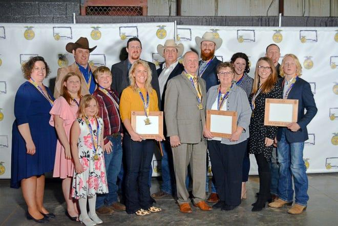The Sanderson family of Lake Preston was named South Dakota FFA Foundation Family of the Year.
