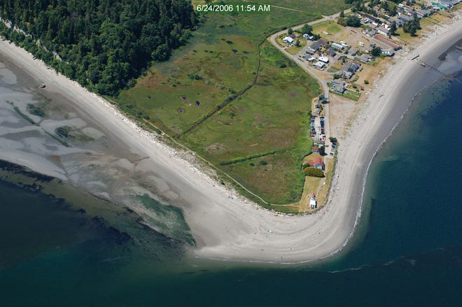 An area at Point No Point will be restored to its historic state, providing better habitat for salmon as they travel toward the Puget Sound.