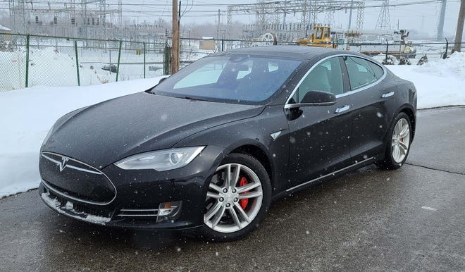 What are you waiting for? This used, 2015 Tesla Model S P90D with 60,000 miles can be had for under $50,000 - a far cry from the car's new price of $140k - yet the S is as modern as ever.