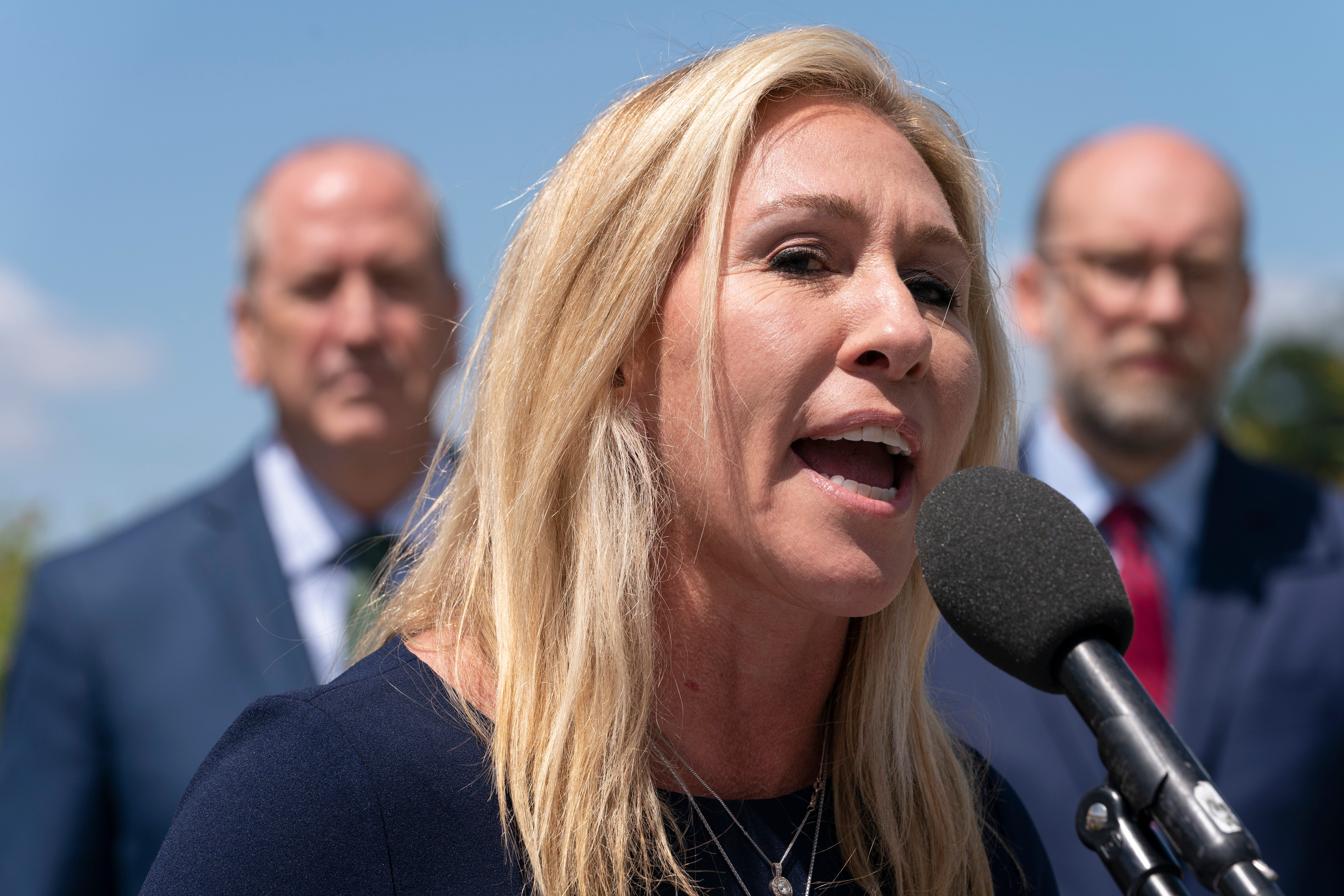 GOP leaders condemn Greene over Holocaust comments 2
