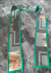 Indigenous graduation stoles were made this year for Indigenous students graduating from UW-Green Bay.
