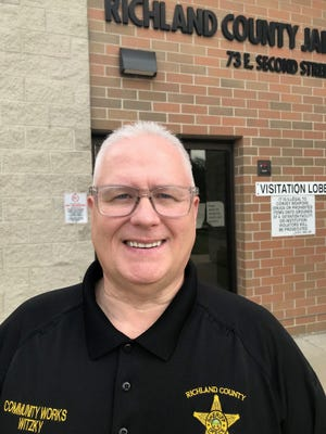 Keith Witzky, inmate community works deputy at the Richland County Sheriff's Office, is retiring Friday after 30 years with the department.