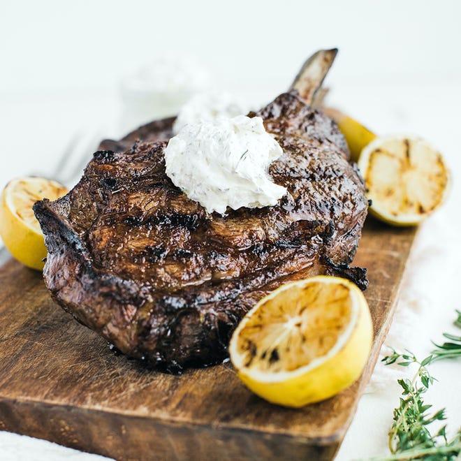 Rib-eye steaks are one of Strauss Brands' bestsellers in summer.
