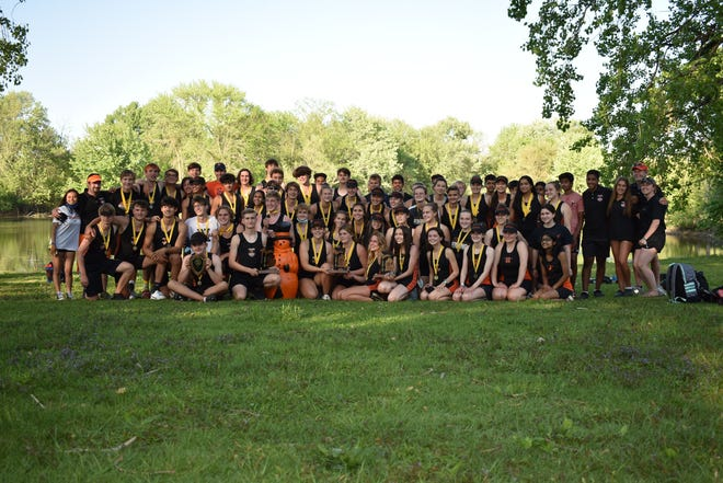 The Northville rowing team took home three championship trophies in all three state competitions.