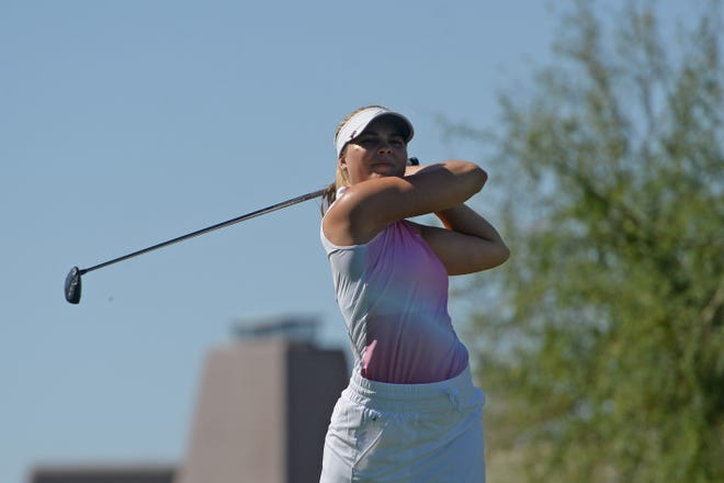 Arizona State University golfer Amanda Linner qualified for the U.S. Women's Open through a qualifier at Superstition Mountain.