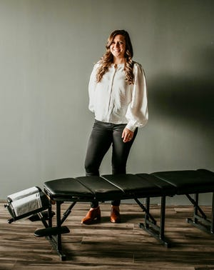 Greenwood Township resident Lindsey Bennett has opened Ember Chiropractic, a new mobile chiropractic service that serves St. Clair and Sanilac counties.
