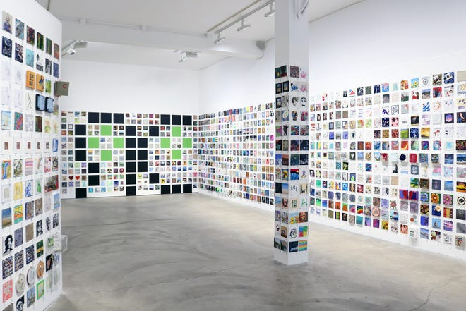RoCo's Main Gallery will feature an installation with thousands of 6x6 submissions from artists from all around the world.