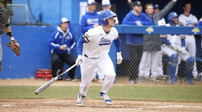 Landon Badger and South Dakota State will face top-seeded Oral Roberts in the first round of the Summit League baseball tournament Thursday in Omaha.