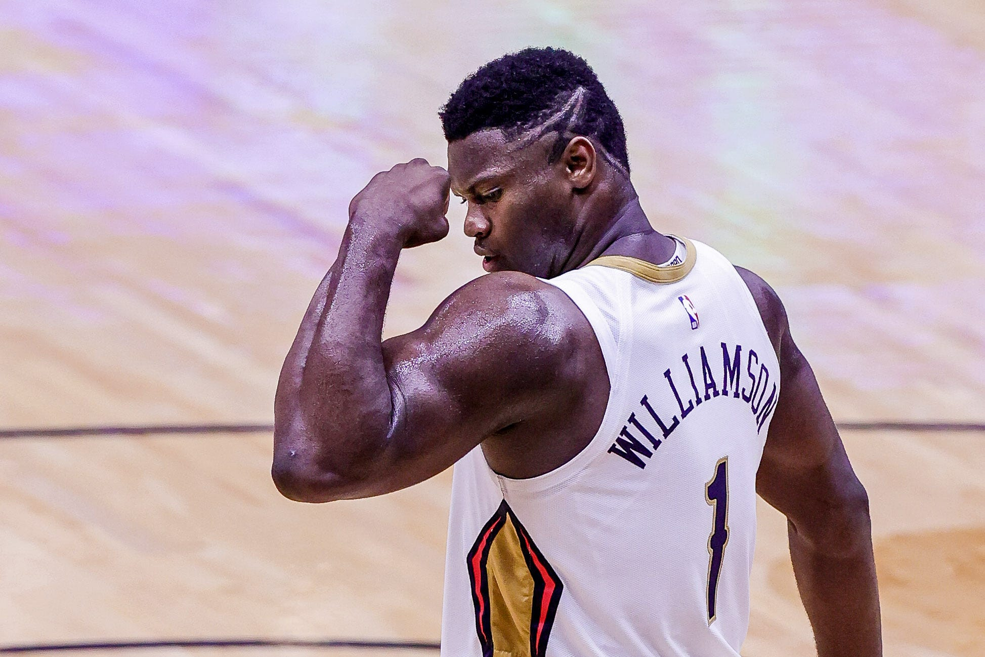 Men's basketball player Zion Williamson is an example of an athlete who would have capitalized on his persona while a freshman at Duke.