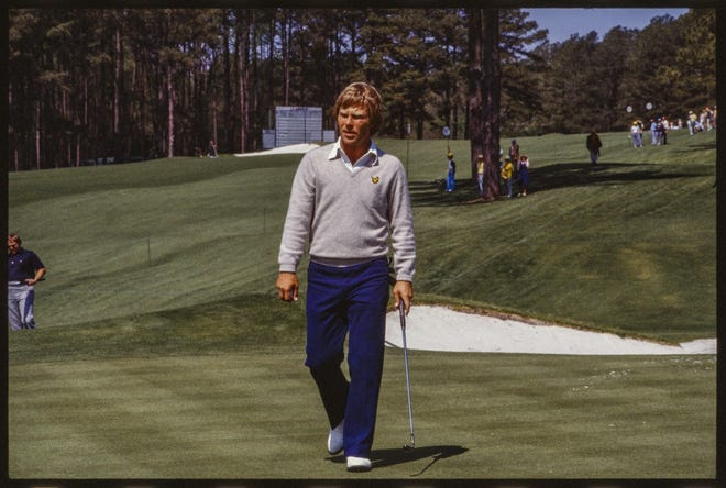 Ben Crenshaw, shown here during the 1979 season, has fond memories of Colonial Country Club — and one painful one.