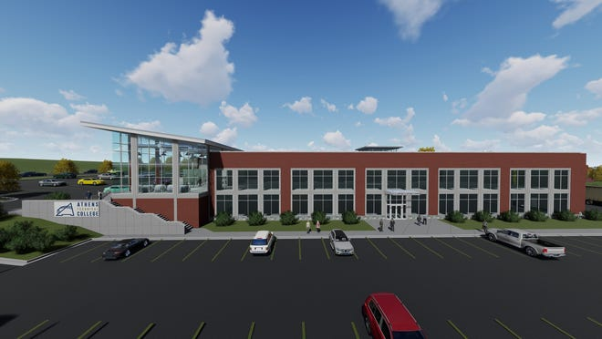 An artist's rendering of Athens Technical College's new Industrial Systems Technology building.