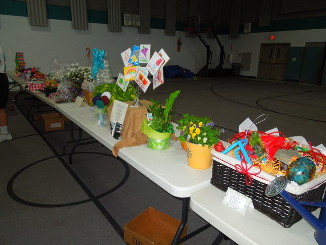 A look at some of the 50 items that were up for auction in the Town & Country Gardeners of Alliance fundraiser.