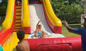 Water slides, slip-n-slides and other outdoor fun will be featured at Splash Jam on Aug. 20 at Masters City Little League Baseball Park in Augusta.