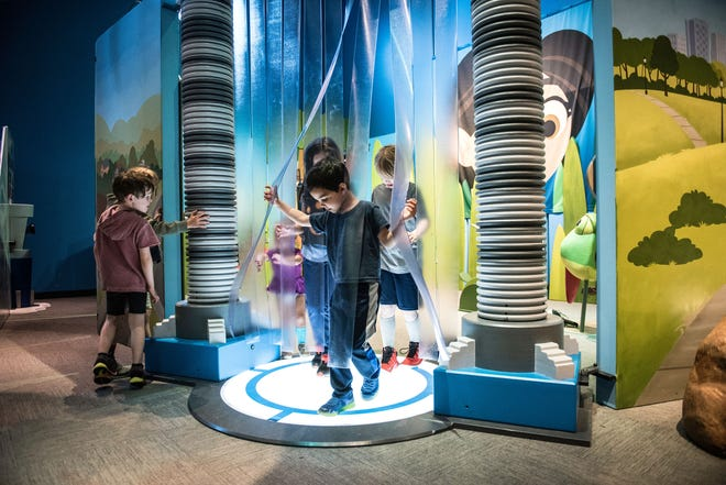 Wild Kratts: Creature Power is open at the Springfield Museums.