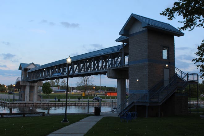 The Cheboygan Downtown Development Authority will be moving forward with repairs to the elevators in the pedestrian footbridge across the Cheboygan River. These repairs are being done at a cost of just over $15,000 per elevator.
