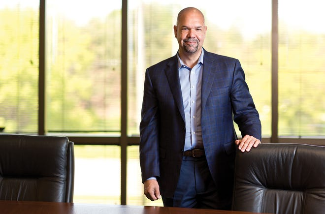 Mark Cain of Smoot Construction is one of the newer members of the Columbus Partnership, and one of very few Black CEOs among the influential group.